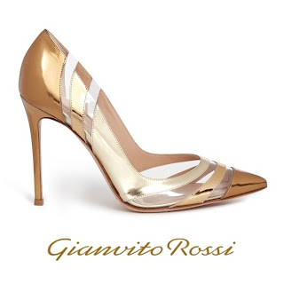 Queen Maxima - Gianvito Rossi Gold Metallic Pumps