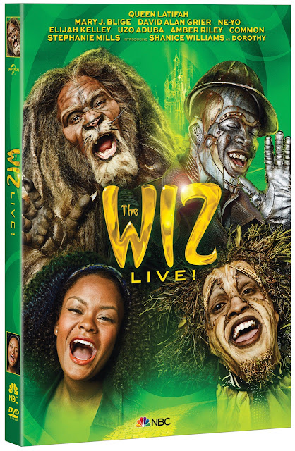 THE WIZ LIVE! Coming to DVD December 22, 2015!!  Giveaway Ends 12/18  via  www.productreviewmom.com