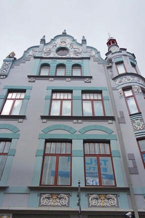 estonie tallinn vieille ville rue pikk
