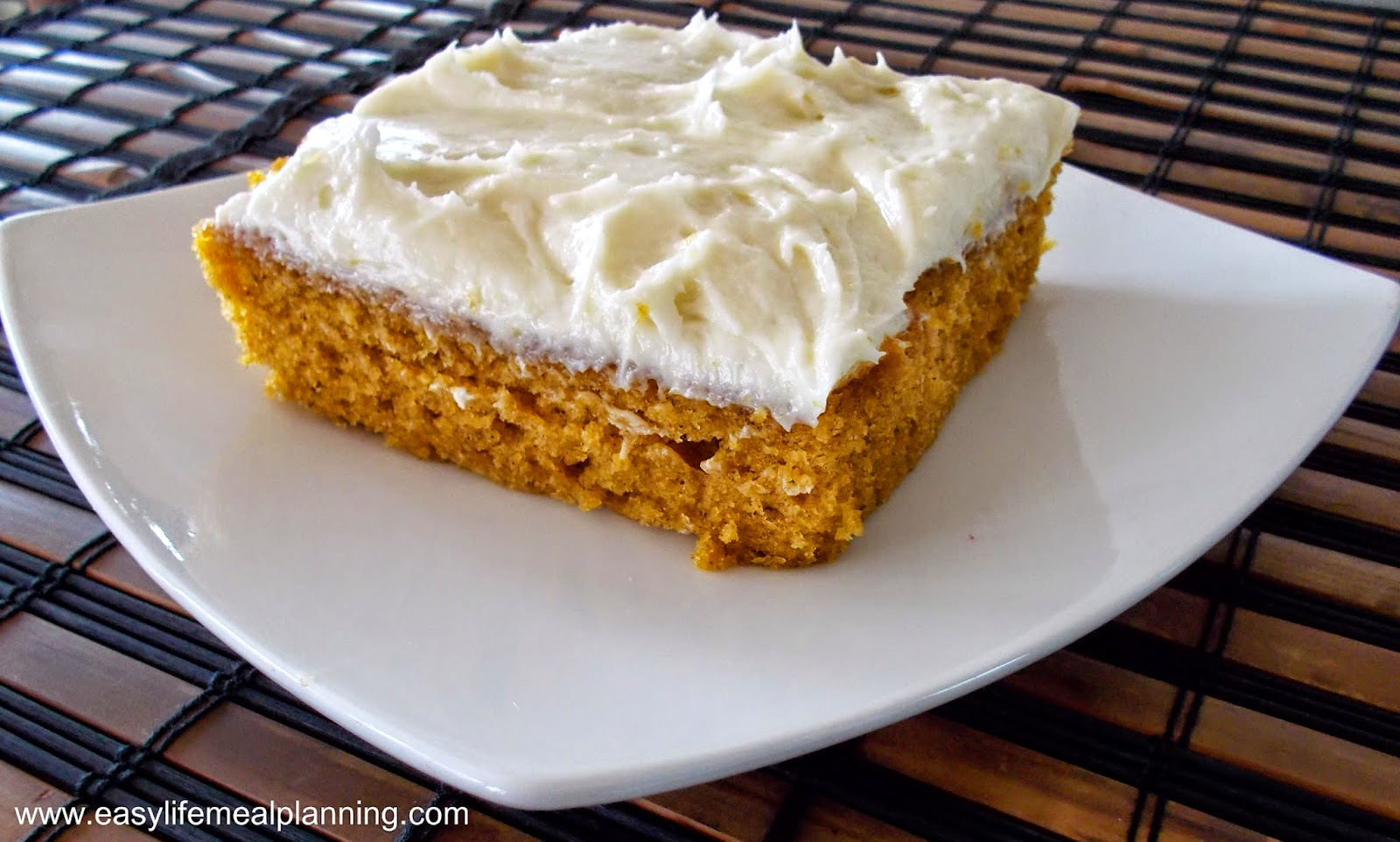 Heavenly Pumpkin Bars: Easy Life Meal & Party Planning