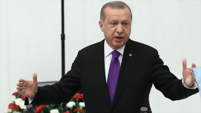 Erdogan: EEUU no logrará nada con sanciones injustas a Irán