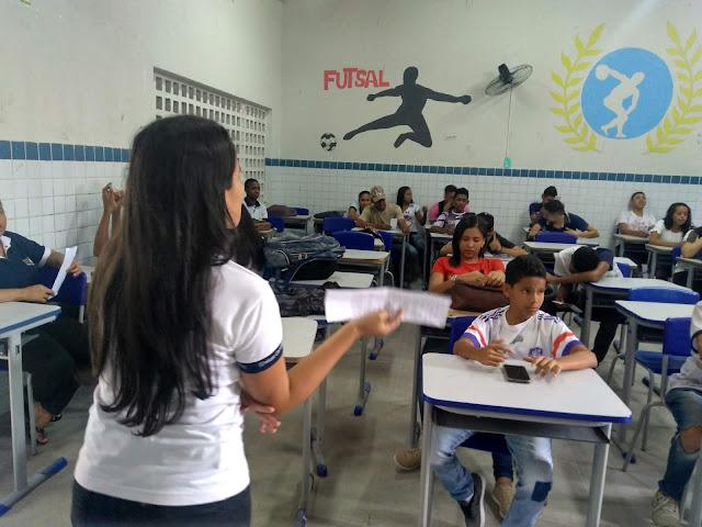 Estudantes participam de aulas temáticas sobre valor à vida (Foto: ECITEC NEWS)