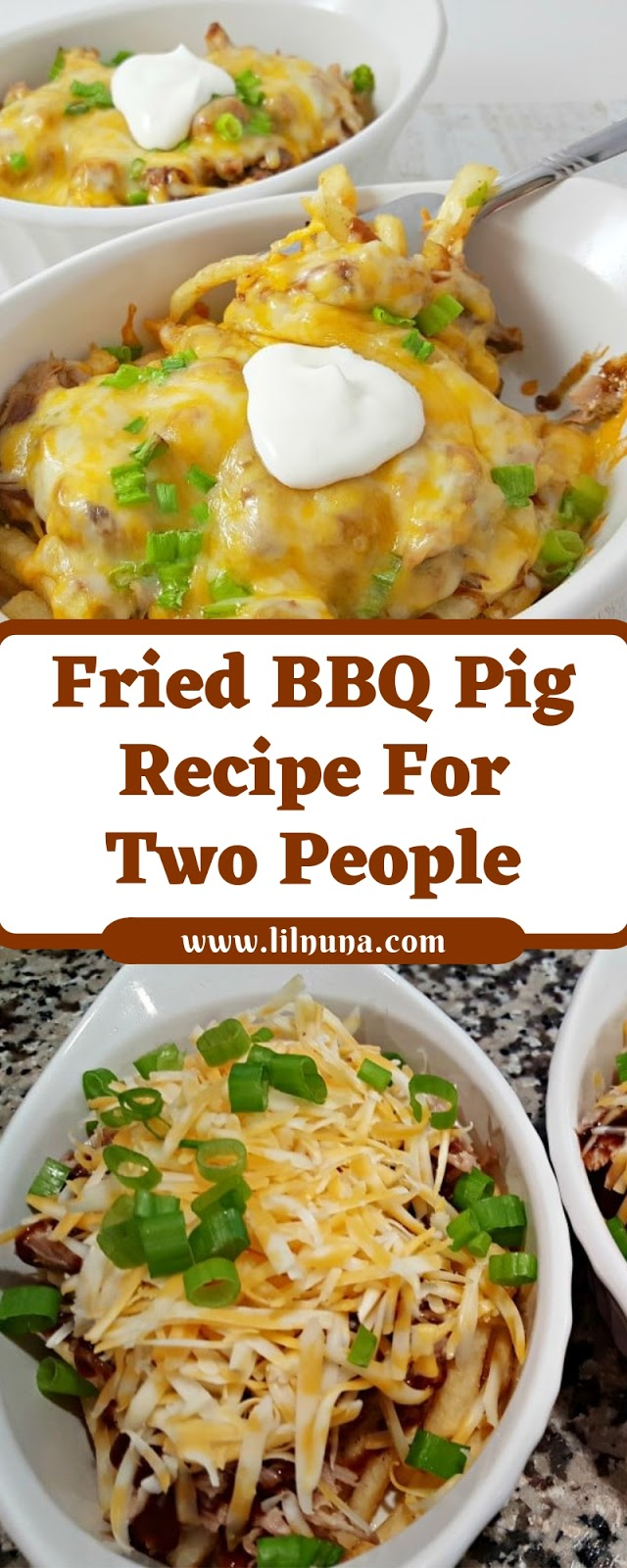 Fried BBQ Pig Recipe For Two People