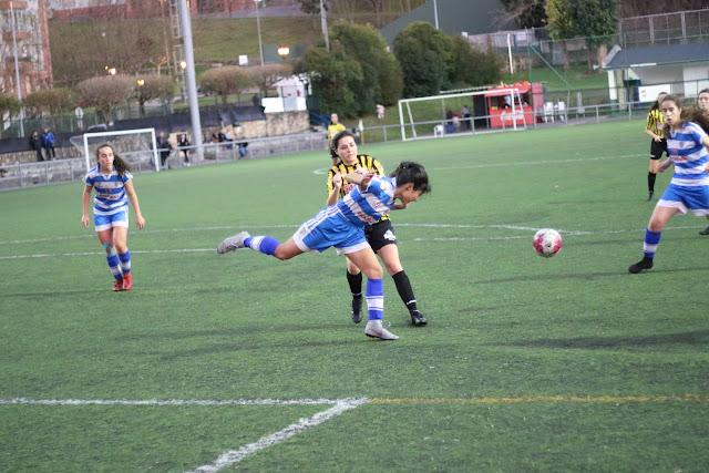 Barakaldo CF femenino vs Bizkerre B