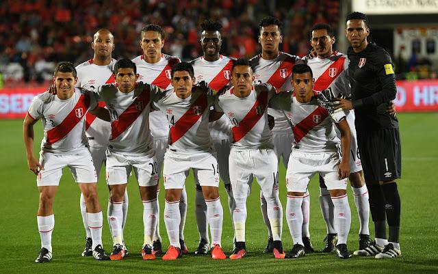 Formación de Perú ante Chile, Clasificatorias Rusia 2018, 11 de octubre de 2016