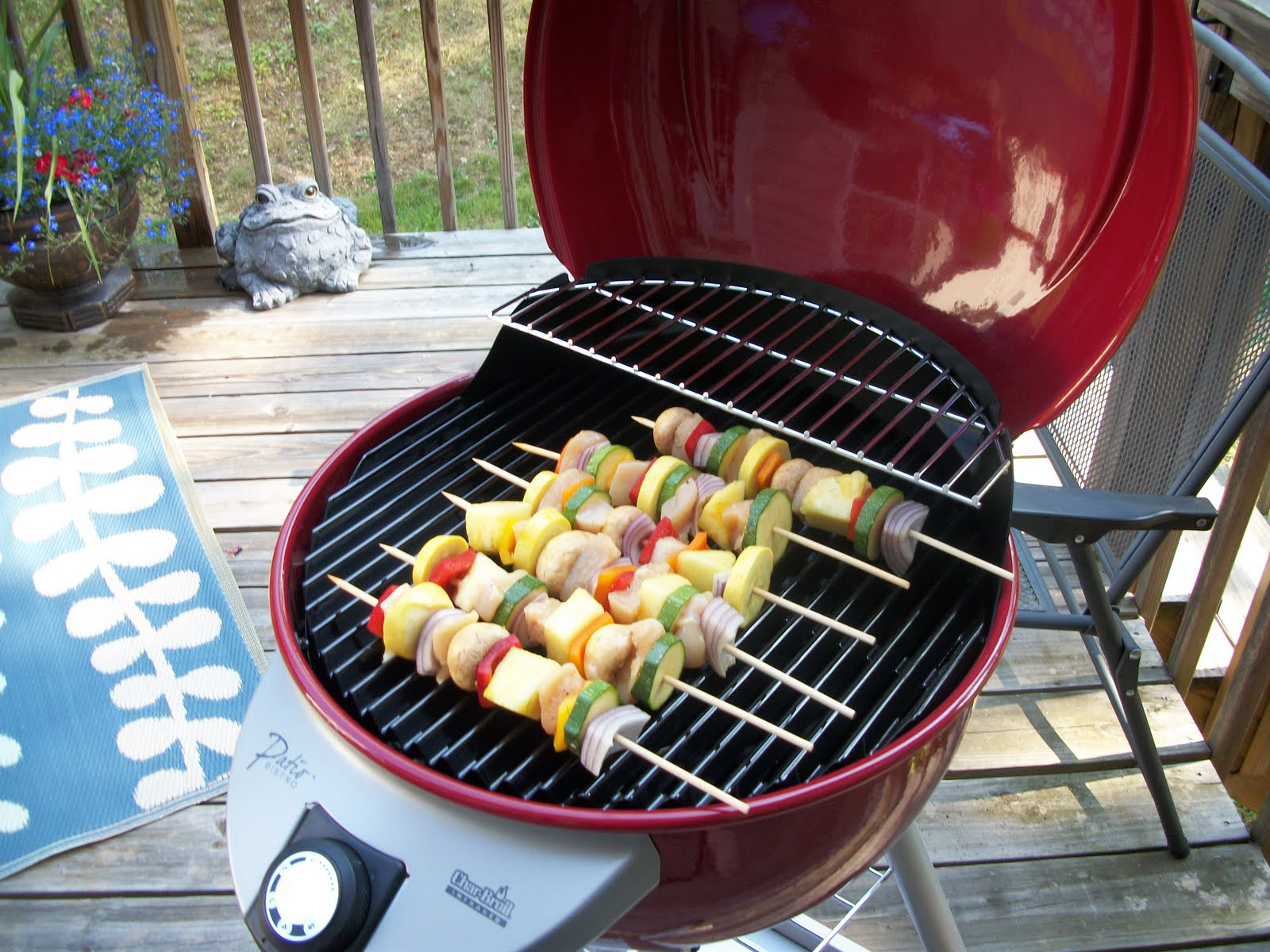 What's Cooking With Melissa?: Grilled Corn & Kabobs On An