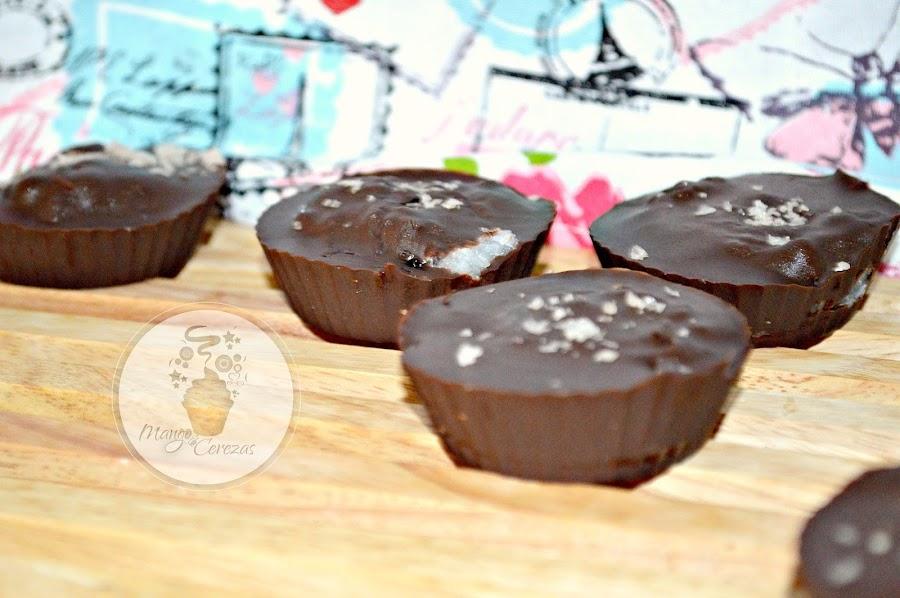 Chocolate, Coco, Arándanos