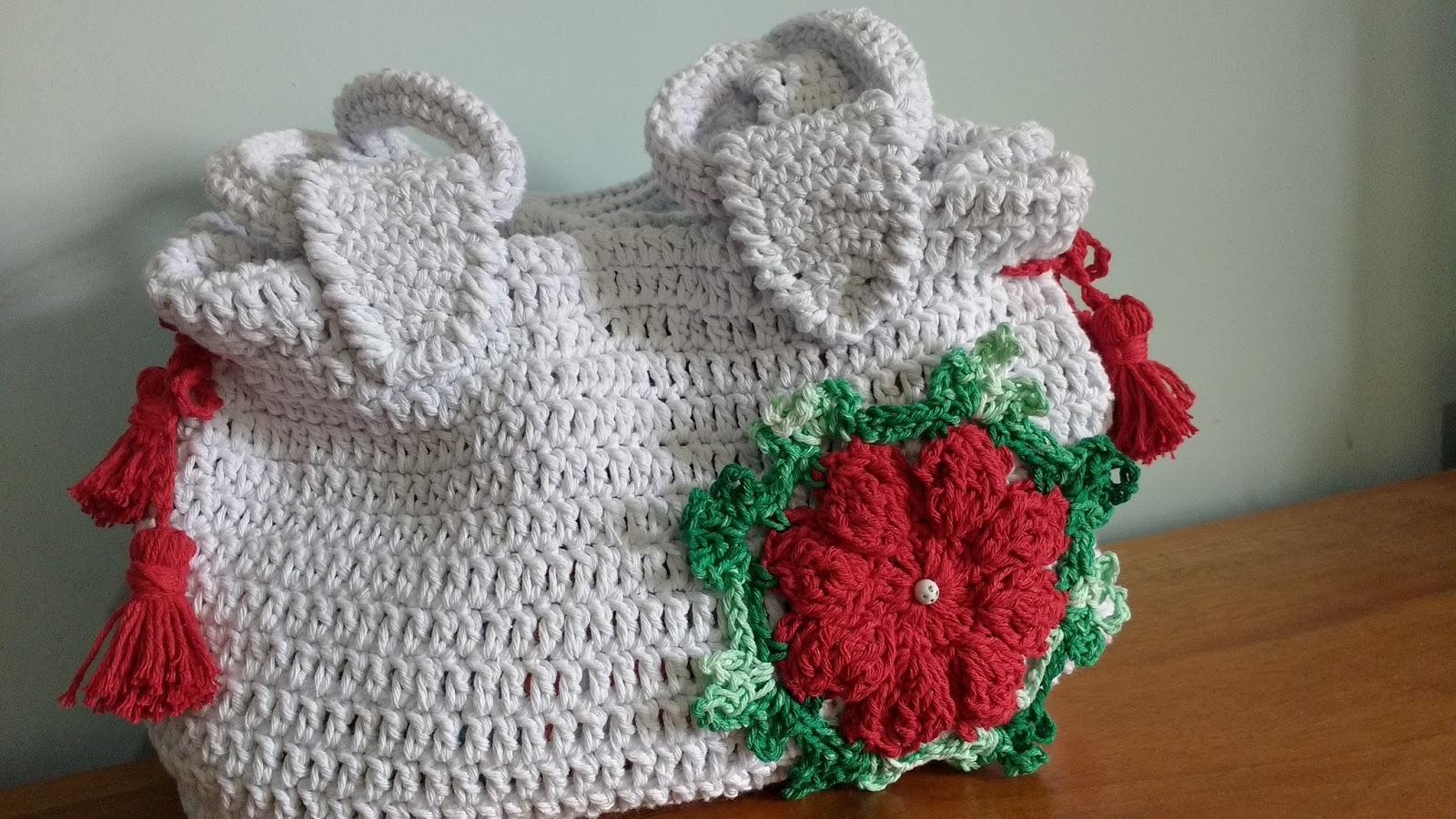Bolsa De Croche Para Casamento : Croch? chique bolsa croch?
