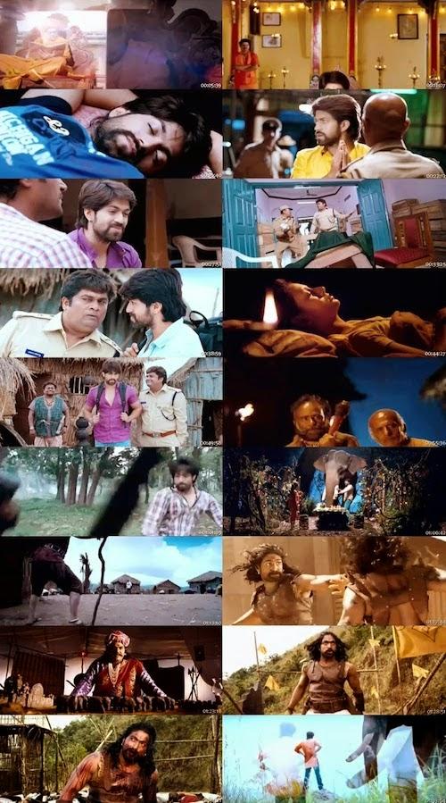 The Big Lion Gajakesari (2015) Hindi Dubbed HDTV 350mb