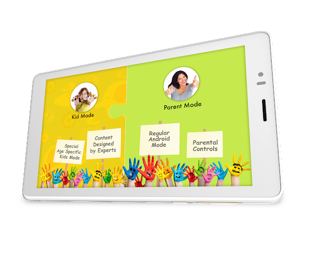 """Micromax launches Canvas Tabby – The Dual-Mode Family Tab with a specially designed """"Kids-use"""" Mode for Rs. 6499"""