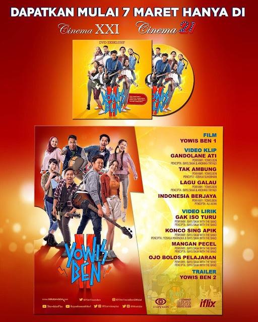 #Cinema21 - #Promo Presale Tiket YoWisBen2 Gratis 1 DVD Ekslusif