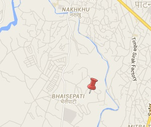 Earthquake epicenter map of Bhaisepati, Lalitpur