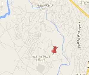 Earthquake epicenter map of Bhaisepati, Lalitpur