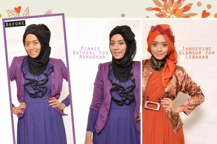 Tutorial Makeup Simple untuk Crossdress Hijaber by Wardah