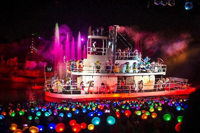 Fantasmic no Hollywood Studios na Disney em Orlando