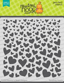 http://www.newtonsnookdesigns.com/tumbling-hearts-stencil/