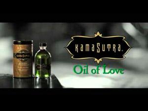 Gama de aceites de masaje comestible de Kamasutra