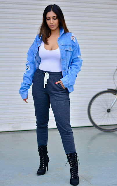oversized denim jacket blog