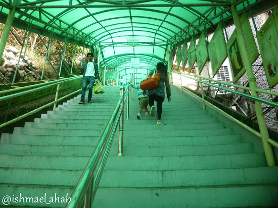 Stairs to Baguio Cathedral