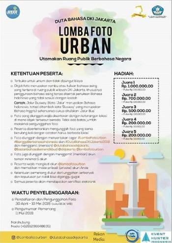Contest Foto Urban Gratis Umum 2018 Jakarta