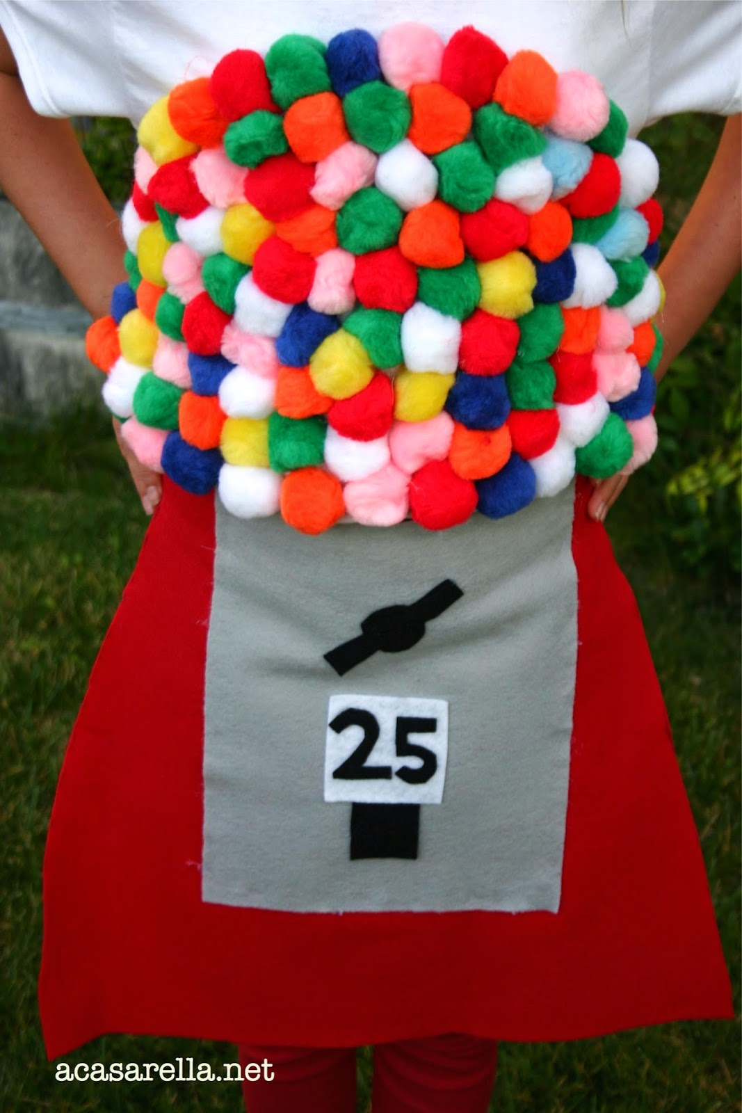 bubblegum machine costume