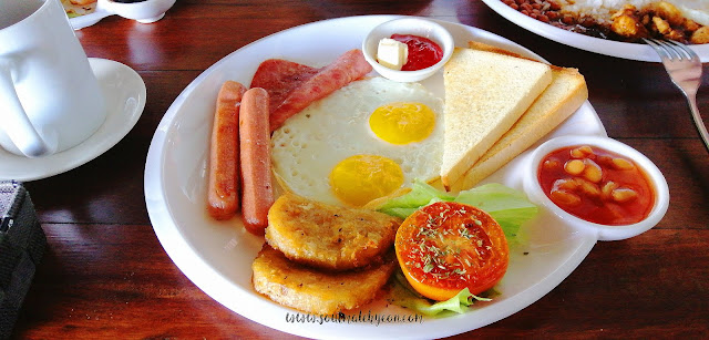 American Breakfast; Ala Carte Breakfast Menu; Kokol Haven Resort