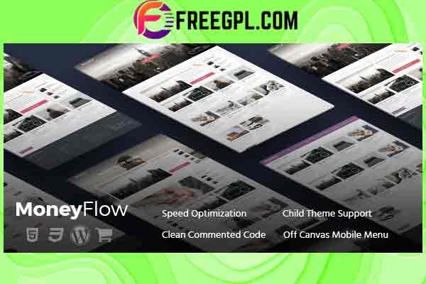MyThemeShop MoneyFlow WordPress Theme Free Download