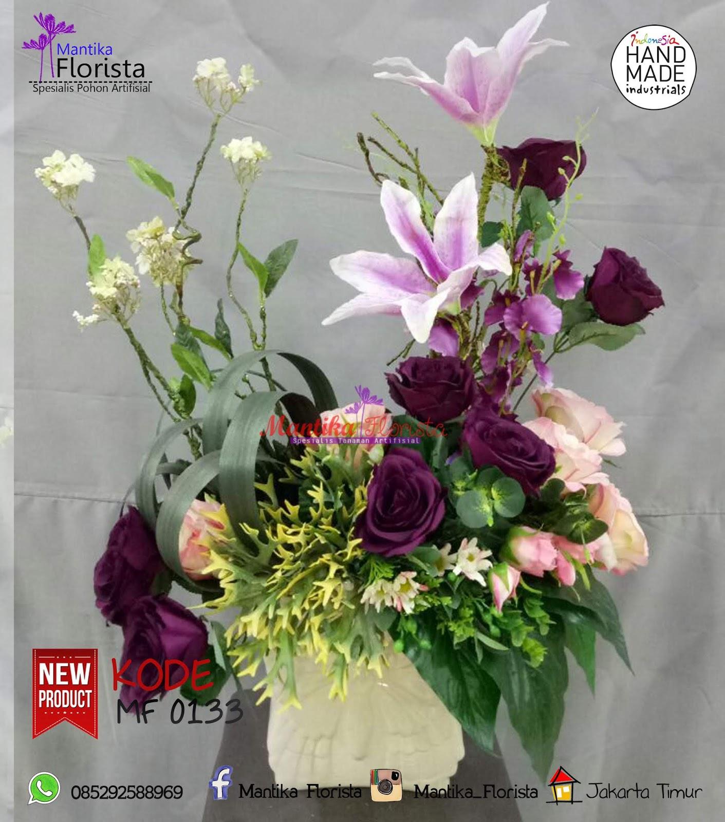 Bunga Plastik Bunga Artificial Macam macam bunga plastik