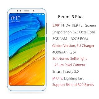 NairobiMail: Xiaomi redmi 5 plus brand NEW