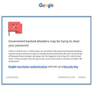 Google telah menghadirkan fitur-fitur keamanan menggunakan gmail