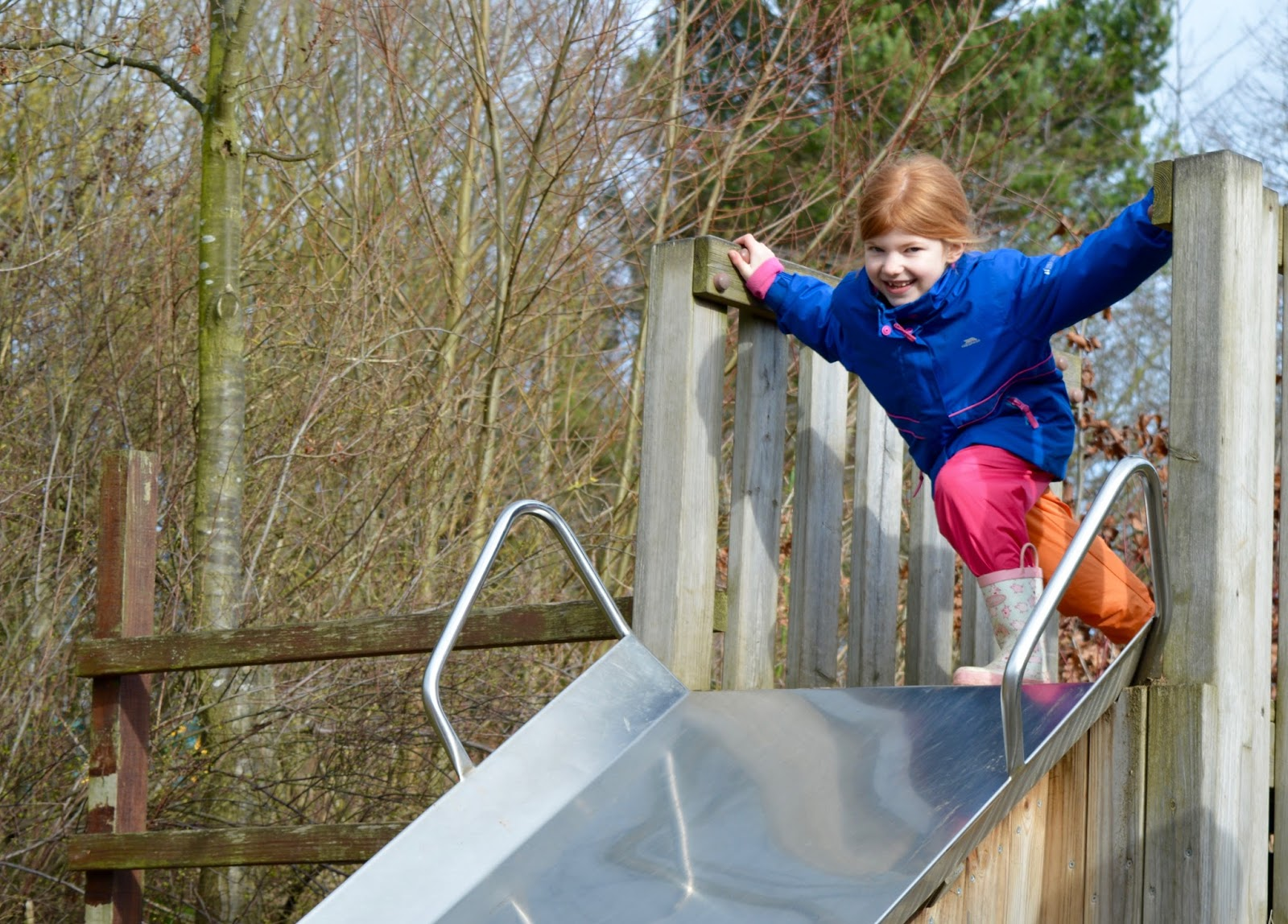 WWT Washington Wetland Centre | An Accessible North East Day Out for the Whole Family - slide in park