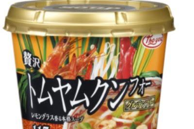 カップタイプフォー 贅沢トムヤムクン 贅沢鶏だしパクチー