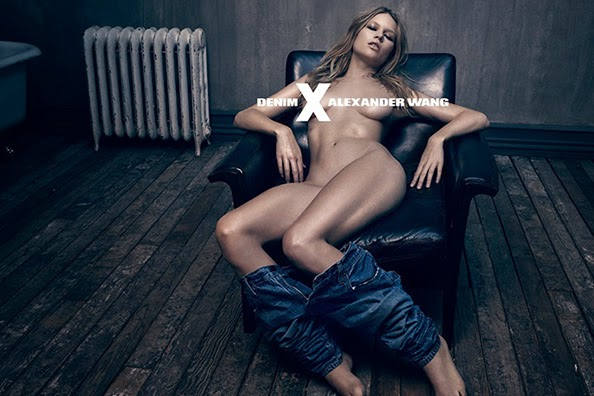 Alexander Wang's Sexy Denim Ad Campaign