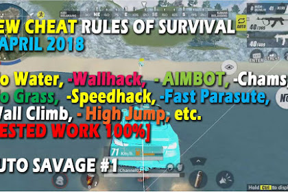 Cheat Rules of Survival Asparagin 6.0 Update 7 April 2018
