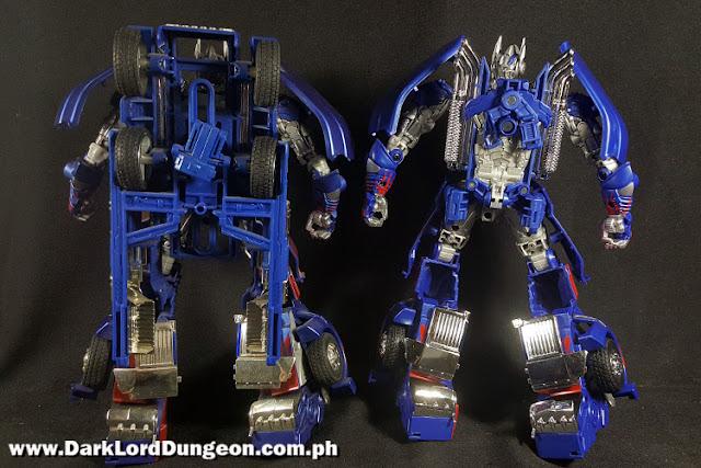 Takara TLK-15 Calibur Optimus Prime & AD 31 Armor Optimus Prime