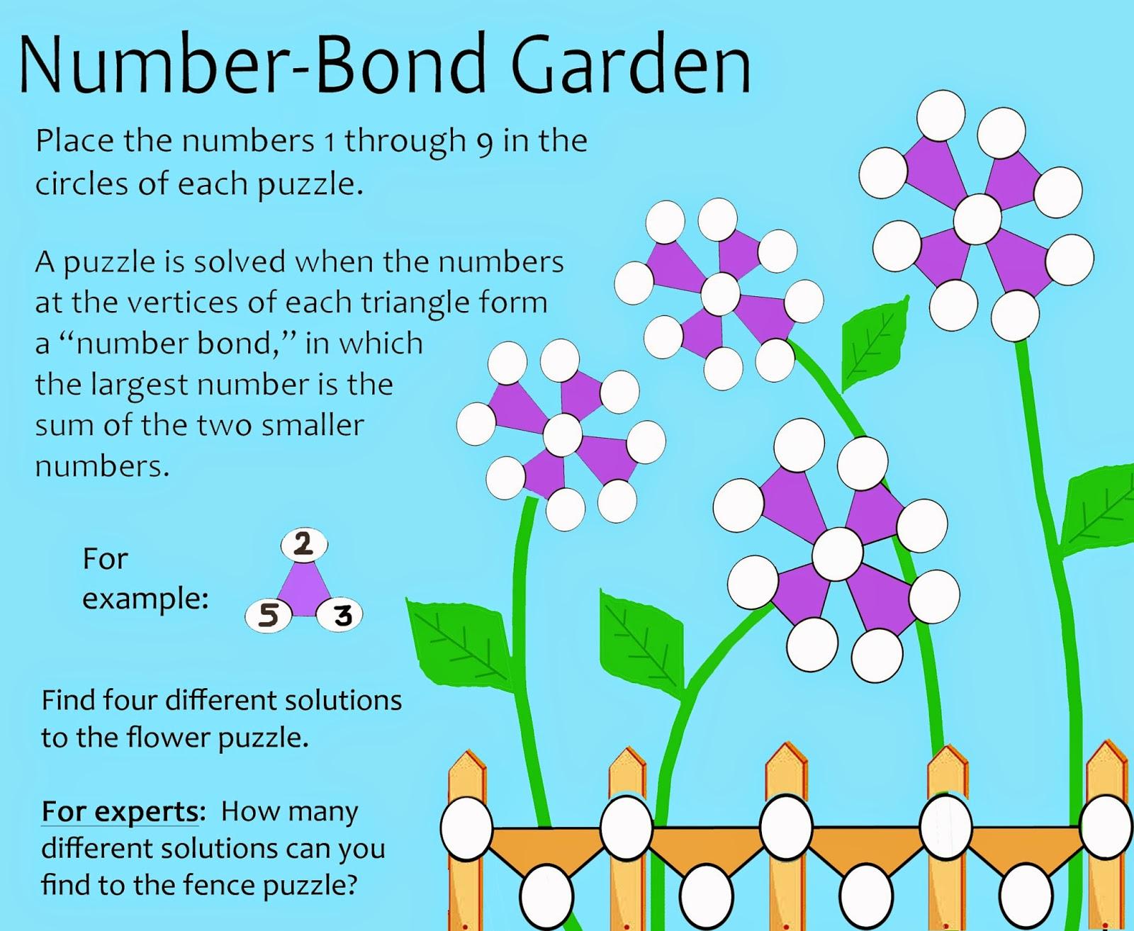 Worksheet What Is A Number Bond Grass Fedjp Worksheet