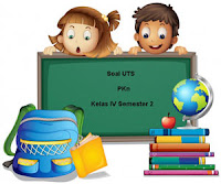 Soal UTS PKn Kelas 4 Semester 2 untuk Tahun Ajaran 2017/2018