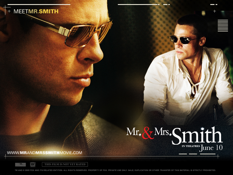 Download Mr. & Mrs. Smith Movie In HD, DivX, DVD, Ipod