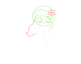 HOW TO DRAW AN Ariel