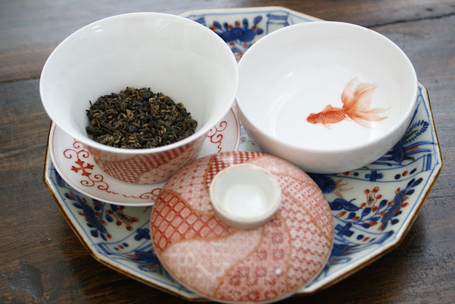 """Yunnan Jin Luo """" Lu Shan """" thé rouge"""