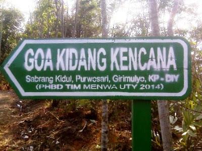 Wisata Goa Kidang Kencono