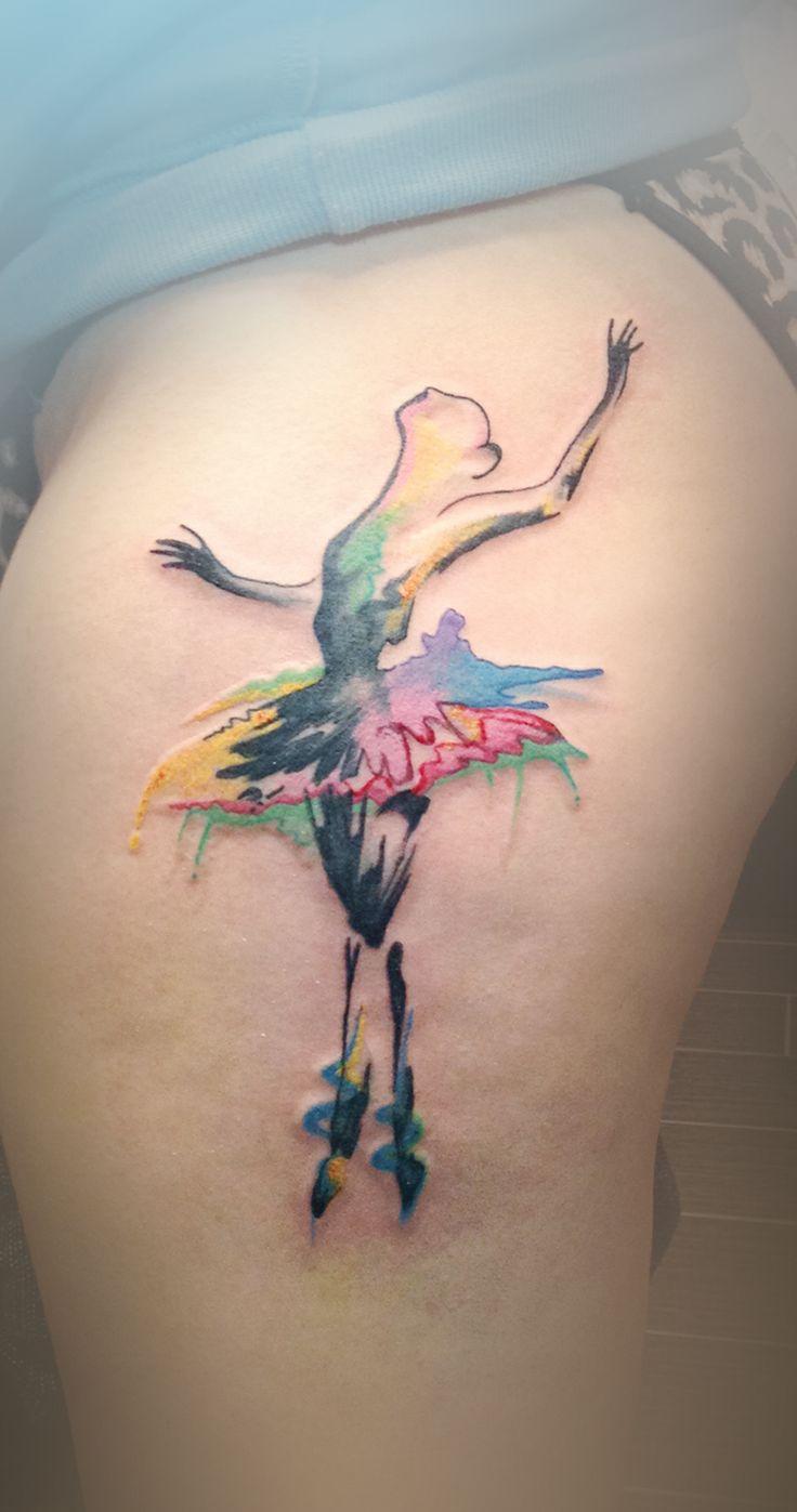 tatuaje de una bailarina