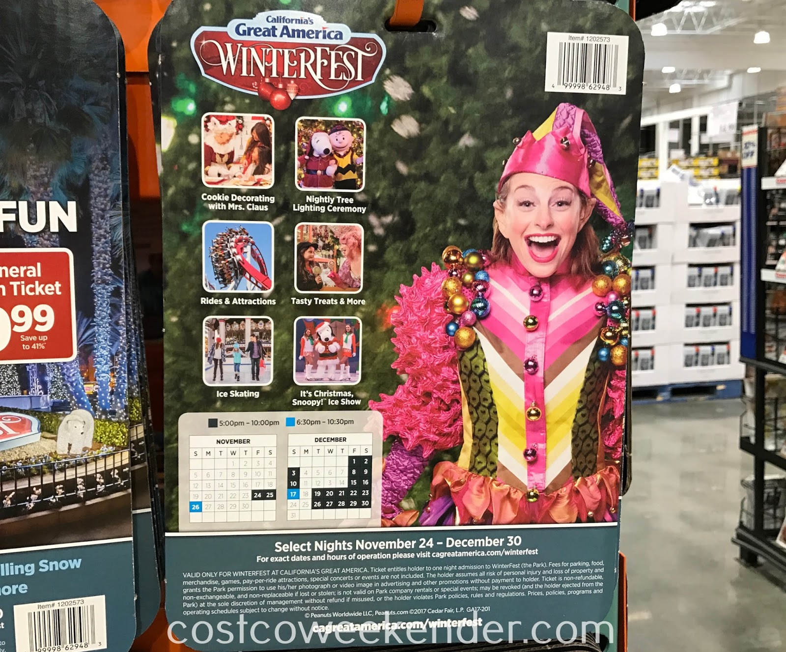 Costco 1202573 - Great America WinterFest: great for the entire family