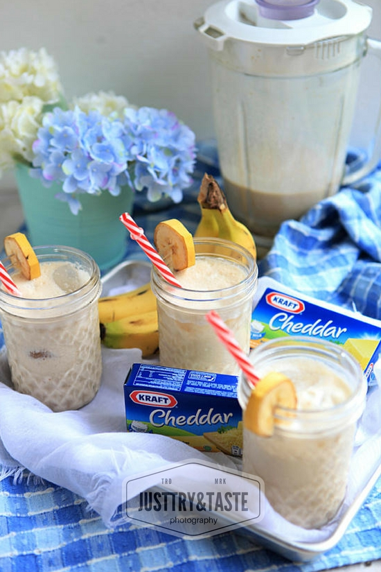 Resep Banana Cheese Smoothie