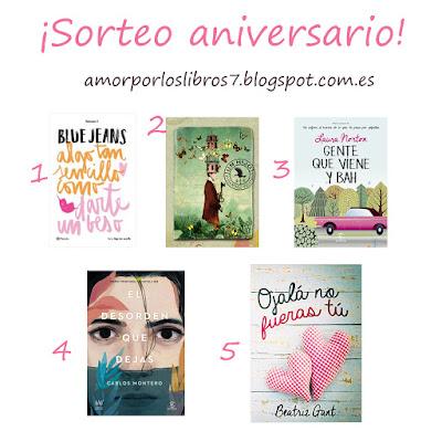http://amorporloslibros7.blogspot.com.es/2016/05/sorteo-primer-aniversario-5-ganadores.html