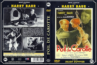 Carátula dvd: Pelirrojo (1932) (Poil de carotte)