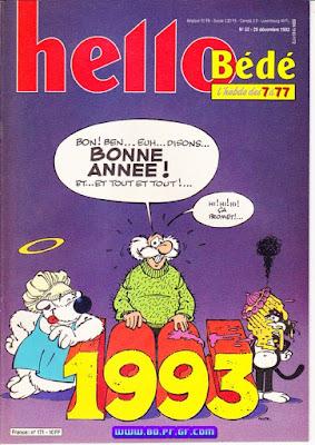 Bonne année 1993