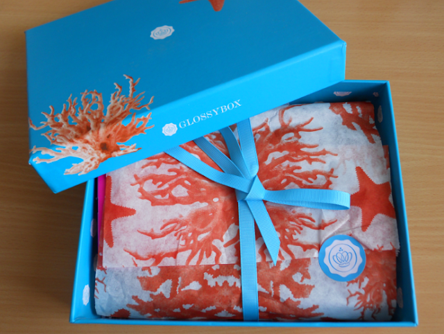 Glossybox July 2013, Glossybox seaside splash