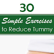 Fashion, Beauty and Inspirations: Top 30 Exercises to Reduce Tummy