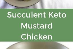 Keto Mustard Chicken with Rosemary